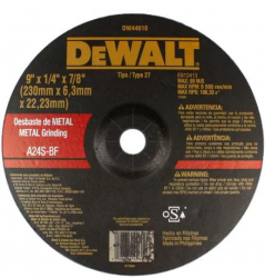 Detalhes do produto Disco de Desbaste para Metal de 9 Pol
