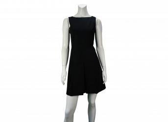 Detalhes do produto Vestido Prada Preto Liso