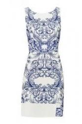Detalhes do produto Vestido Tubinho Azulejo