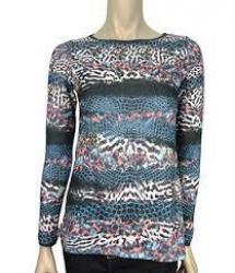 Detalhes do produto Blusa Tricote Estampada