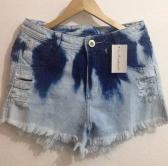 Short Jeans Rajado