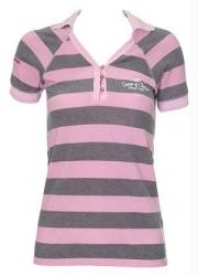 Detalhes do produto Camisa Listrada Feminina Polo