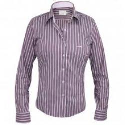 Detalhes do produto Camisa Xadrez Feminina Azul Polo USA
