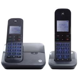 Detalhes do produto Telefone sem Fio Motorola Moto6000-MRD2 com Identificador de Chamadas