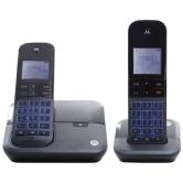 Telefone sem Fio Motorola Moto6000-MRD2 com Identificador de Chamadas