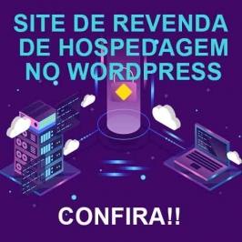 SITE DE REVENDA DE HOSPEDAGEM NO WORDPRESS