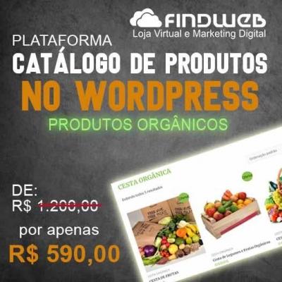 Detalhes do produto PLATAFORMA DE CATÁLOGO DE PRODUTOS ORGÂNICOS